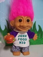 """JUNK FOOD KID  - 5"""" Russ Troll Doll - NEW IN ORIGINAL WRAPPER"""
