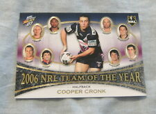 2007  RUGBY LEAGUE 2006 TEAM OF THE YEAR TY5  COOPER CRONK, MELBOURNE STORM