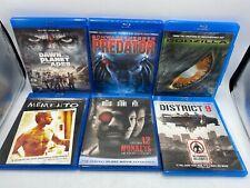 Predator Godzilla Memento 12 Monkeys District 8 Planet Apes Blu Ray Movie Lot