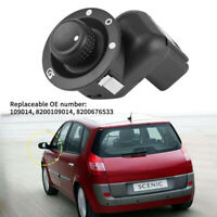 Fit For Renault Megane Clio Adjustable Electric Wing Mirror Knob Control Switch