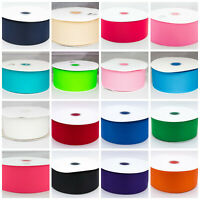 "Grosgrain Ribbon 75mm 3"" 75mm Solid Colours buy 3 get 4th free 1st class postage"