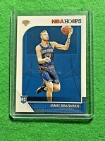 IGNAS BRAZDEIKIS HOOPS ROOKIE CARD NEW YORK KNICKS 2019-20 HOOPS BASKETBALL RC