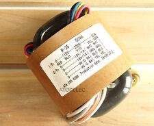 115V/230V 50W R-Core Transformer for AMP Amplifier Preamps DAC 18V+18V 9V+9V