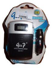 Goop Digital LCD Universal Charger Lithium-ion Battery DC/DV/Mobile Phone NIP JB