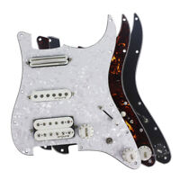 OriPure Alnico 5 Pickup Prewired Loaded ST Guitar HSS 11Hole Pick Guard Assembly