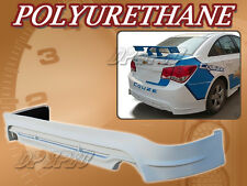FOR 11-12 CHEVY CRUZE T-4 REAR BUMPER LIP BODY SPOILER KIT POLYURETHANE PU