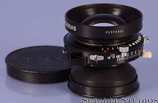 RODENSTOCK SINAR SINARON S 210MM MC F5.6 4x5 LENS W/ CAPS +COPAL 1 SHUTTER MINT