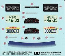 TAMIYA Decal 24120 1/24 Nissan 300ZX Convertible