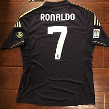 2012/13 Real Madrid Away Jersey #7 Ronaldo M Camiseta Shirt Trikot Maglia BNWT