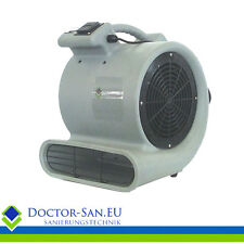 Doctor-San Turbolüfter 3737 m³/h Turbogebläse  Radialgebläse - Stundenzähler