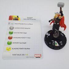 Heroclix Marvel 10th Anniversary set Thor #005 Common figure w/card!