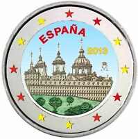 Spanien 2 Euro 2013 Klosteranlage El Escorial Gedenkmünze bankfrisch in Farbe