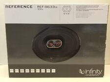 "Infinity Reference 6X9"" 3-Way Coaxial Speakers Infinity REF-9633ix 050667372422"