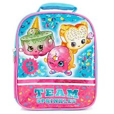 Shopkins D'Lish Donut & Fairy Crumbs Insulated Girls Lunch Tote Bag New