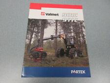 Valmet 901C & 911C Tree Harvester Brochure 6 page