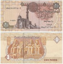 Egypt 1 Pound 2005 P-50j.2 NEUF UNC Uncirculated Arabic Banknote