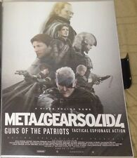 METAL GEAR SOLID 4 Poster 05 Promo