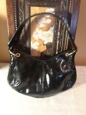 Christopher Kon Black Patent Leather Handbag. Excellent condition