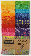 Timeless Treasures Tonga Treats Jr. Batik Strip, RIO, Jelly Roll, Rollup