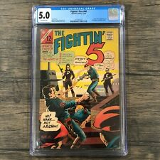 Fightin' Five #40 CGC 5.0 first appearance of Peacemaker JOHN CENA HBO MAX