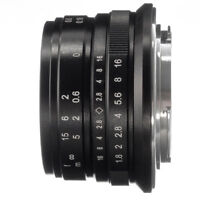 25mm F/1.8 MF Manual Focus Lens For Canon EOS M EF-M Mount M100 M10 M6 M5 Camera