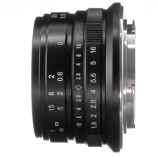 25mm F/1.8 Fixed Lens Manual Focus MF For Canon EOS M EF-M Mount M100 M10 M6 M5