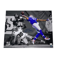 """Odell Beckham Jr New York Giants Football Autographed """"The Catch"""" 16 x 20 Photo"""