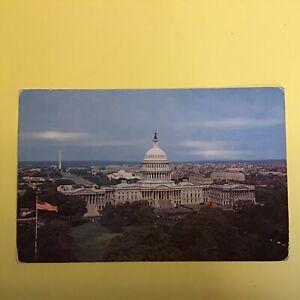The United States Capitol Washington D.C. Unposted Postcard