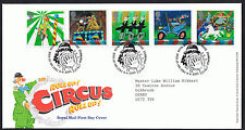 Europa Circus 2002 First Day Cover - SG2275 to SG2279 Tallents House Cancel