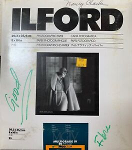 Ilford Multigrade MGIV RC Deluxe Open Envelope (almost full)