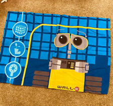 Disney Pixar Wall E Standard Pillowcase Fabric Crafts Crafting Space Robot