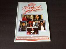 Vintage 1984 Best of Michael Jackson Gallery Books Paperback Book Robin Katz