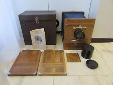 Soviet Vintage FKD 18x24 wooden large format camera w/ I-13 4.5/300mm lens !