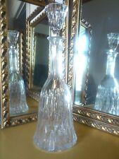 "Superb crystal glass decanter/carafe 34.5 cm / 13.5 "" tall."