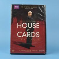 House of Cards - THE ORIGINAL UK SERIES - Remastered DVD - REGION 1 - NEW SEALED