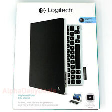 Logitech Keyboard Folio Protective Case for Apple iPad 2 3 4 Rechargeable