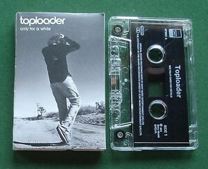 Toploader Only For A While / Cloud 9 Cassette Tape Single - TESTED