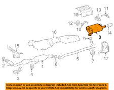 TOYOTA OEM 2018 Camry 2.5L-L4-Exhaust System Muffler 17430F0110