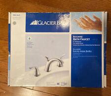 "Glacier Bay Builders 8"" Wide Spread Brushed Nickel Lavatory/Bathroom Faucet"