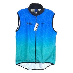 Primal Mens 2XL TOUR de CURE Cycling Wind Vest NEW American Dia betes Assoc Blue