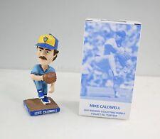 2007 Milwaukee Brewers Mike Caldwell Powder Blue Mini Bobblehead In Box