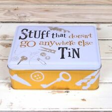 The Bright Side Stuff Tin-Stuff that doesnt go anywhere else Secure Storage Tin
