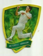 2009/10 Select Cricket Australia DIE CUT FDC10 MITCHELL JOHNSON TEST TEAM CARD