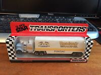 Matchbox Convoy Limited Edition Superstar Transporters Hardee's Racing - Boxed