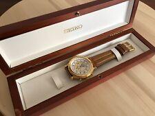 Reloj Seiko 6M13-0010 Calendario Perpetuo Como nuevo