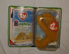 Humphrey the Camel- Retired Rare Ty Beanie Baby Original Packaging Legends