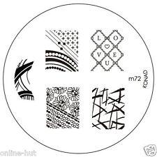 Original Konad Stamping Schablone für Stamping Lack m72