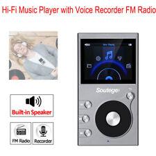 8GB HiFi Media Player MP3 DSD 64 128 256 FM Radio Speaker TF Slot Lossless Music
