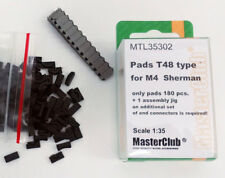 MasterClub MTL35302, SCALE 1/35, PADS T48 TYPE for M4 SHERMAN