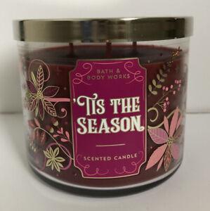 Bath & Body Works Tis The Season 3-Wick Candle